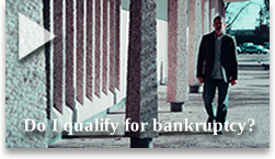 Watch this video to help determine if you qualify for bankruptcy.